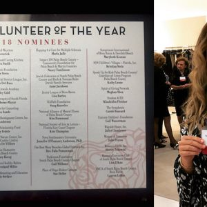2018 Boca Raton's Woman Volunteer of the Year Nominee